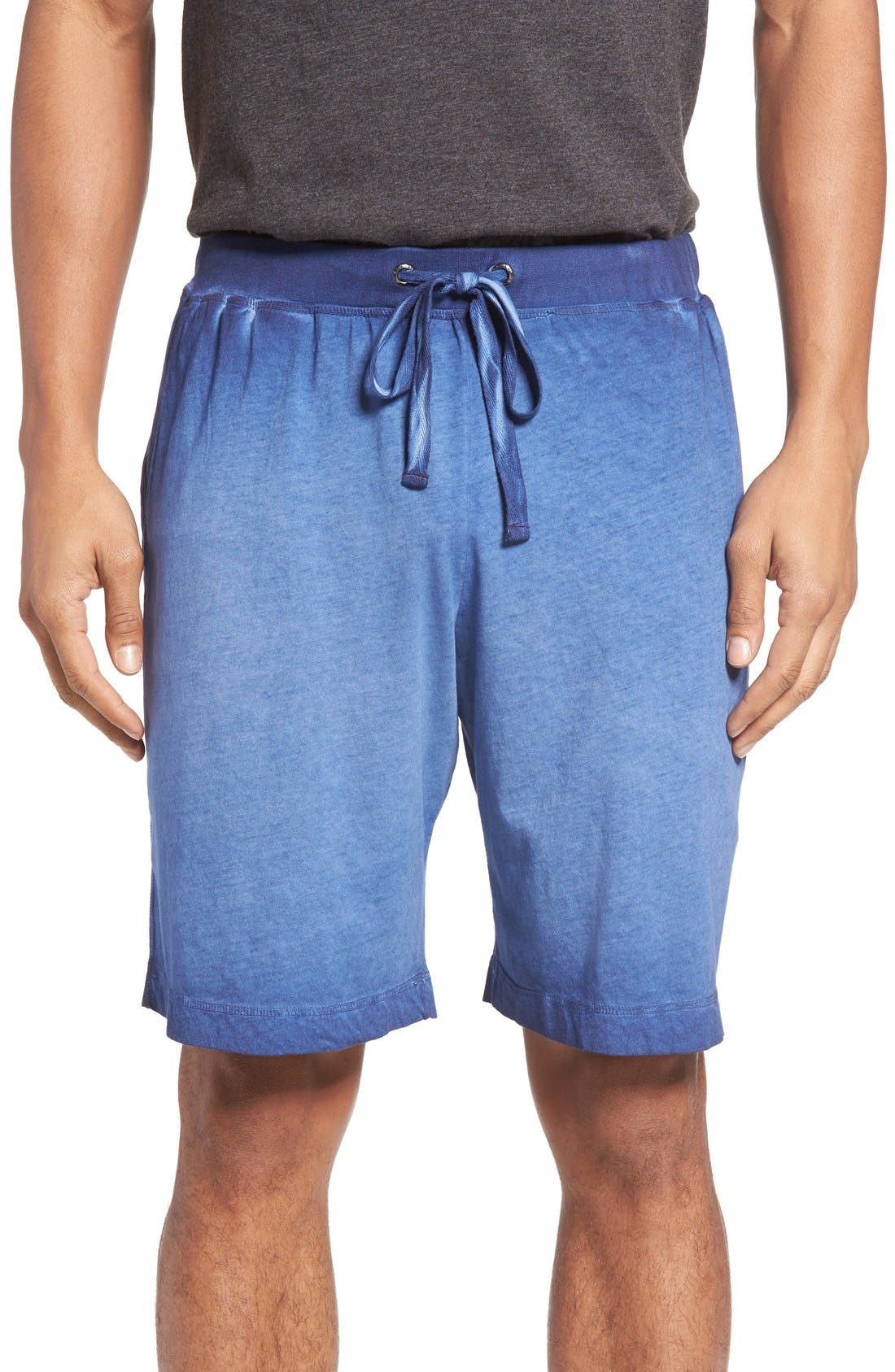 DANIEL BUCHLER Vintage Wash Cotton Lounge Shorts