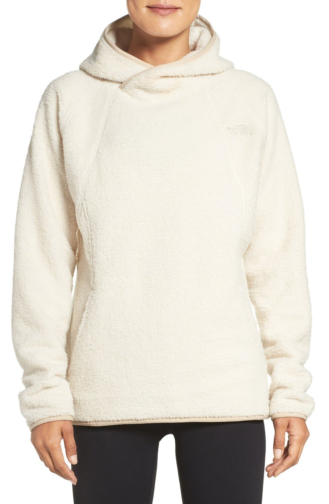 Alternate Image 1 Selected - The North Face Hooded Fleece Pullover
