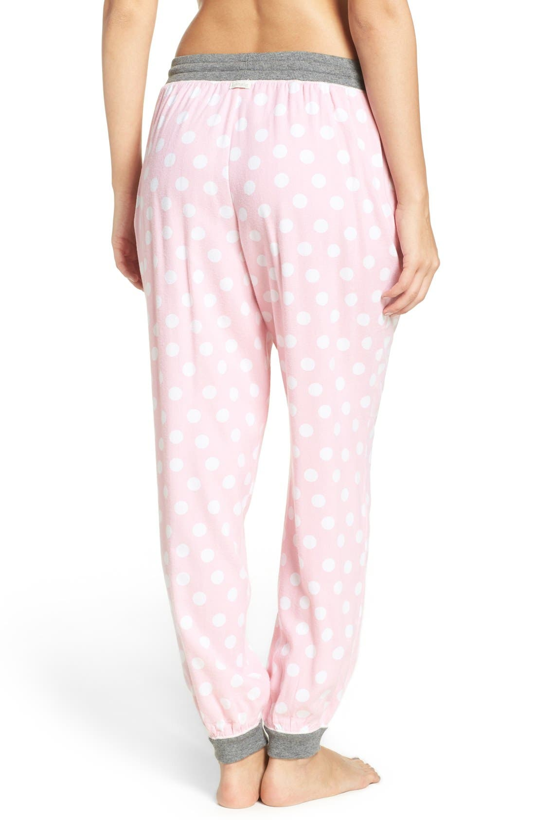 Alternate Image 2  - kensie Jogger Pajama Pants