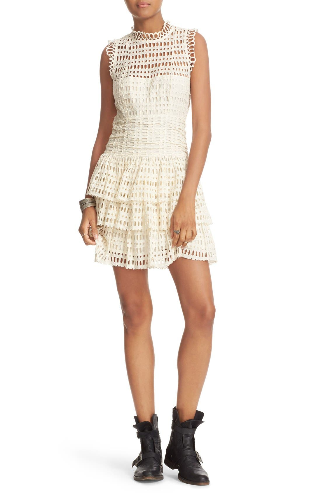 Main Image - Free People Meet Me at Midnight Minidress