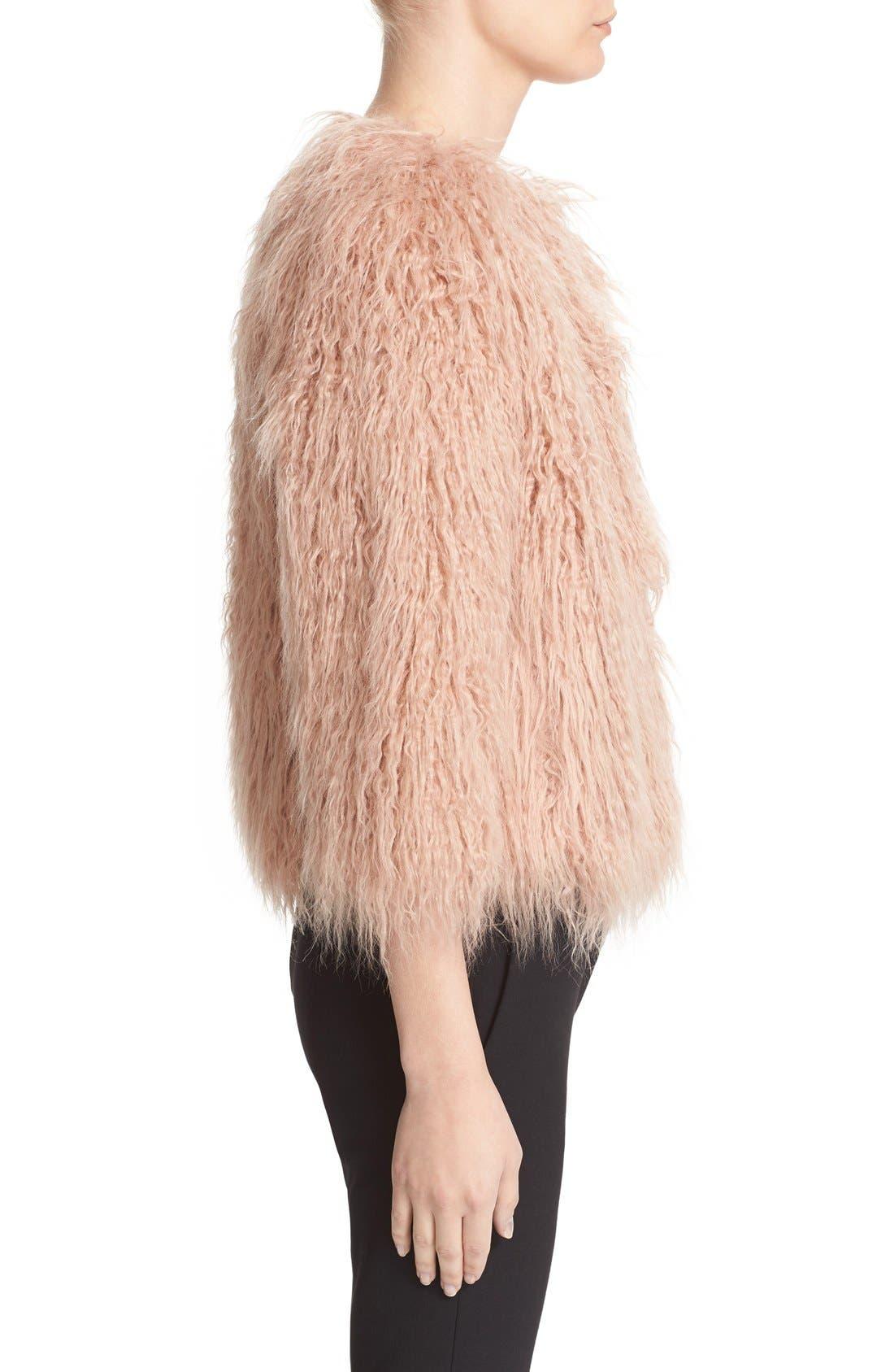 Alternate Image 4  - Theory Elstana 2 Faux Fur Crop Jacket