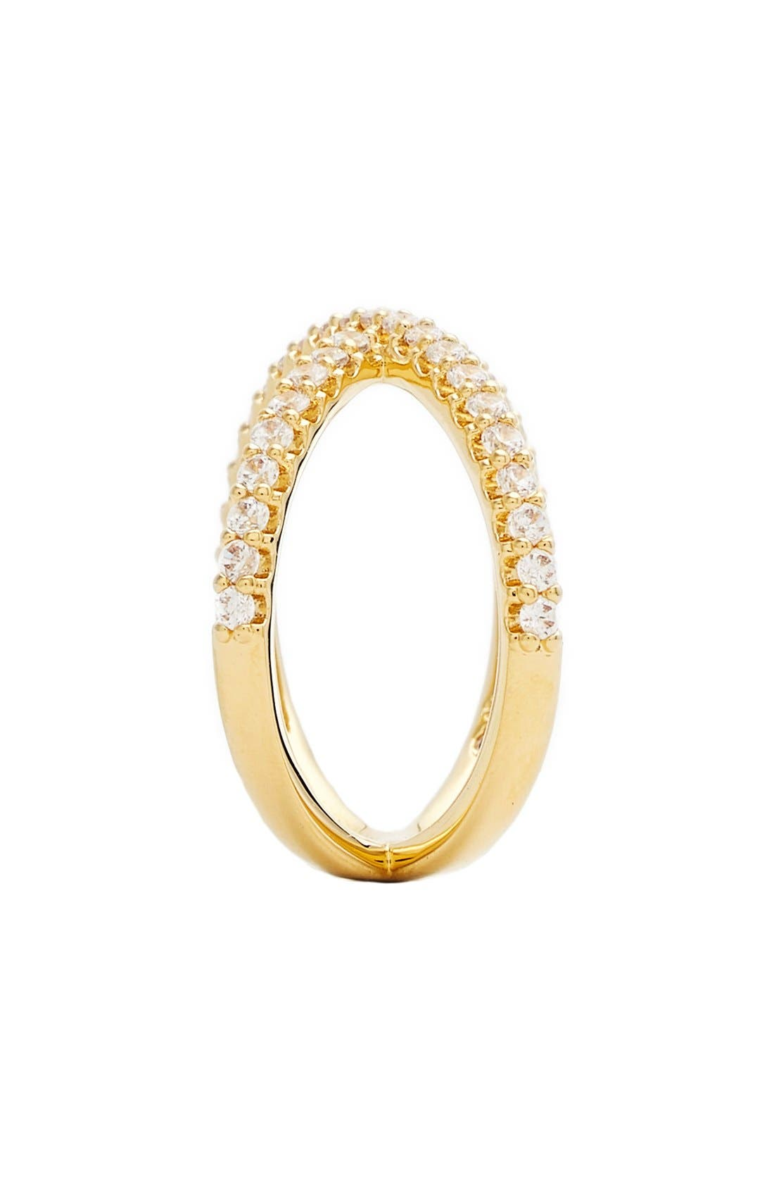 Alternate Image 2  - Nadri Crossover Cubic Zirconia Ring