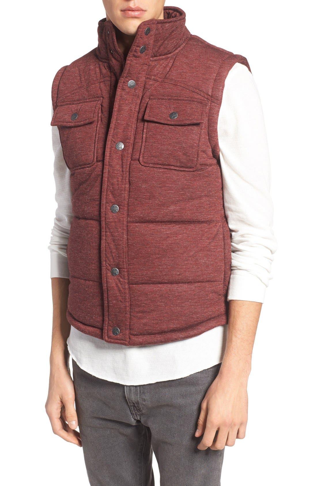 Alternate Image 4  - Kane & Unke Heathered Jersey Vest