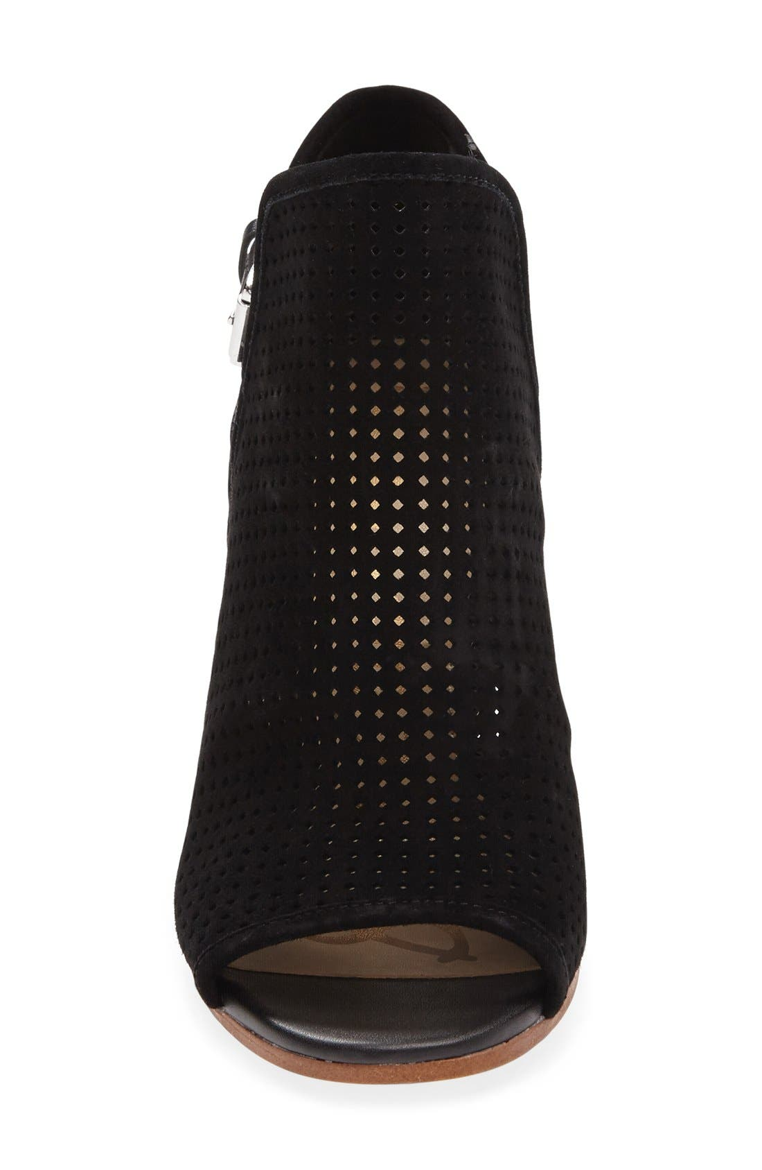 Alternate Image 3  - Sam Edelman Easton Perforated Open Toe Bootie (Women)