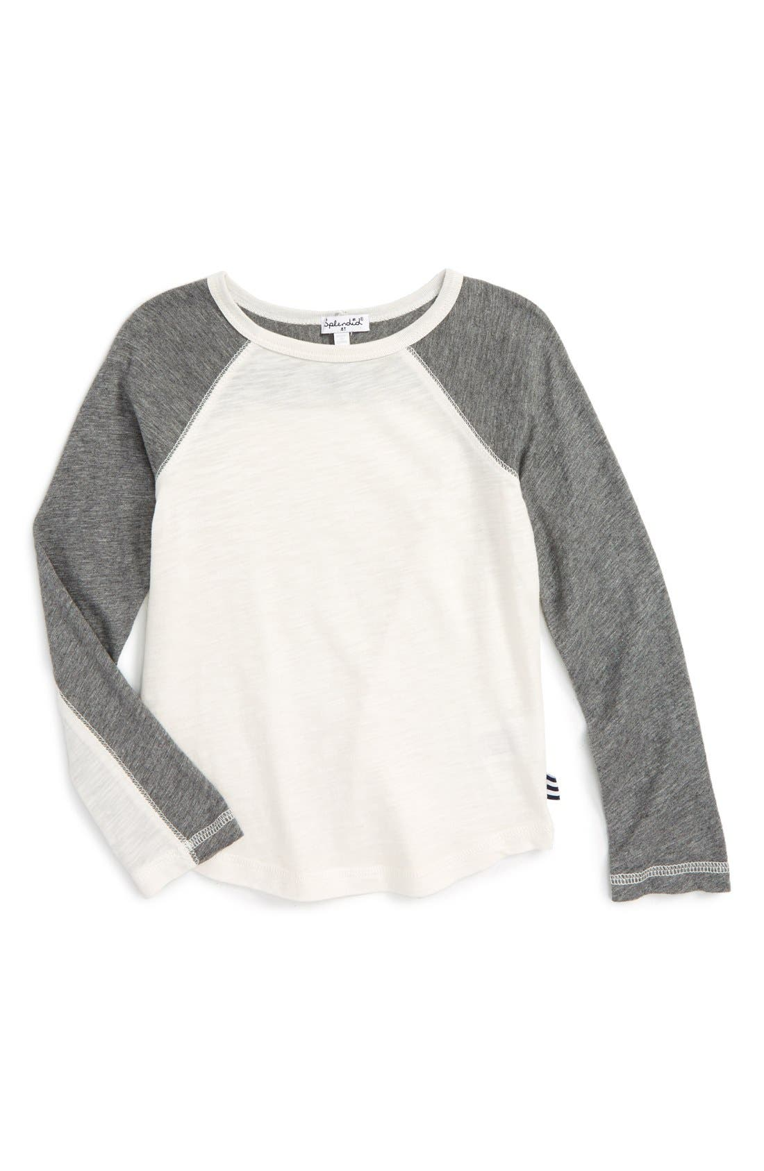 Splendid Slub Knit T-Shirt (Toddler Boys & Little Boys)