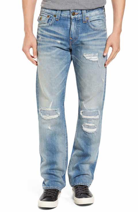 True Religion Brand Jeans Ricky Relaxed Fit Jeans (DLKM Worn Desert Well)