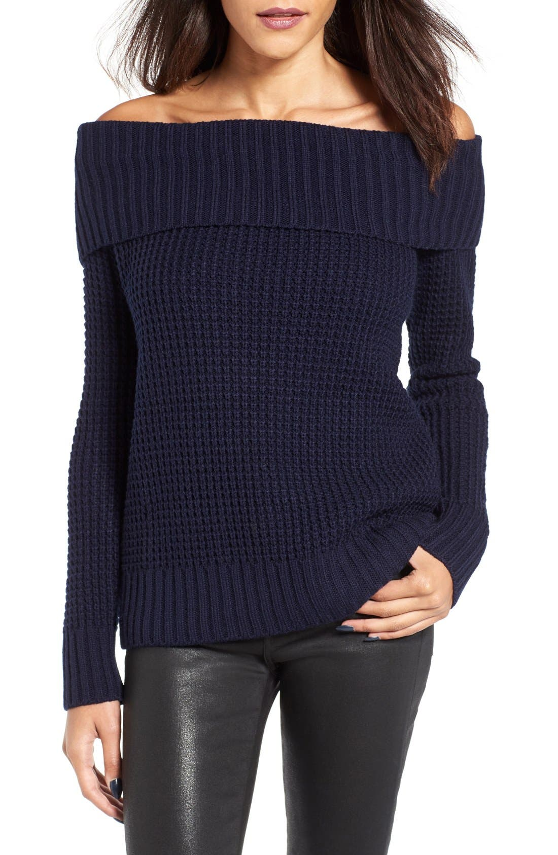 Main Image - BP. Off the Shoulder Sweater