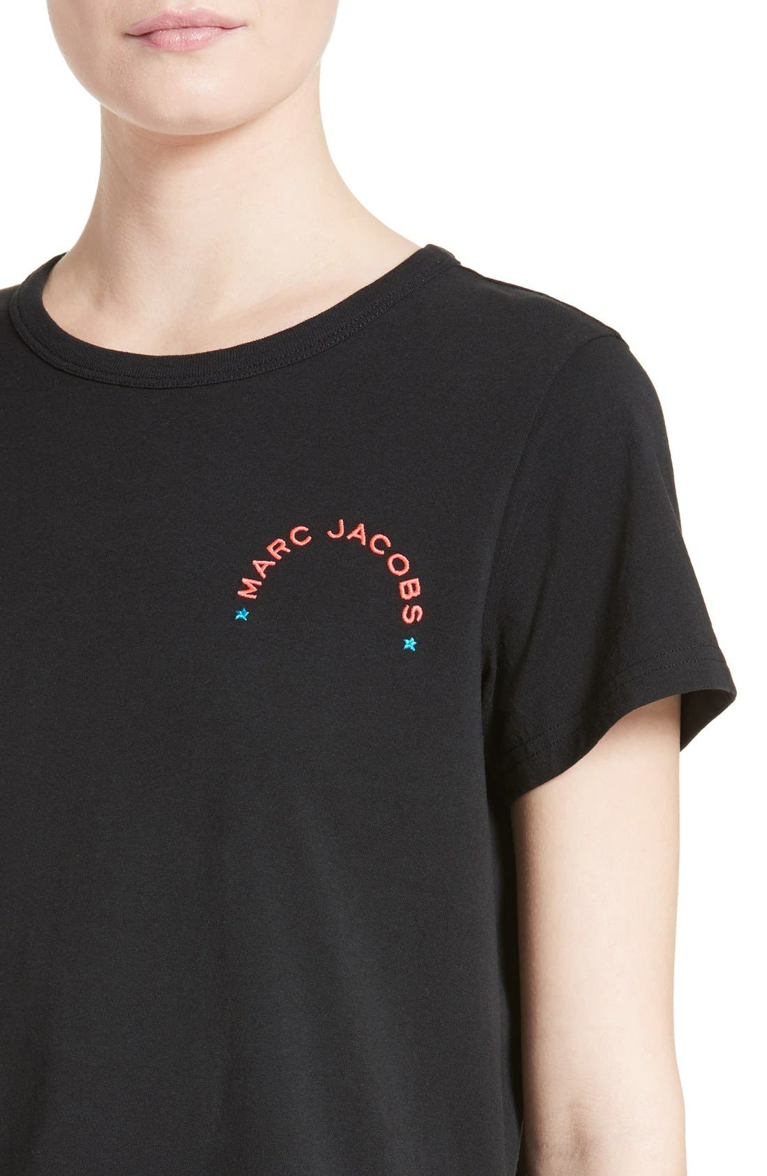 Alternate Image 6  - MARC JACOBS Embroidered Tee