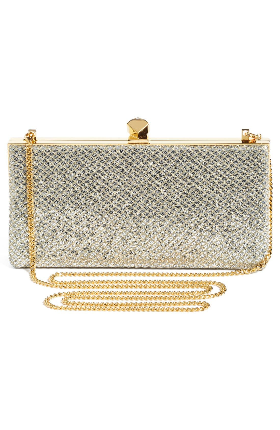 Alternate Image 3  - Jimmy Choo Celeste Glitter Frame Clutch