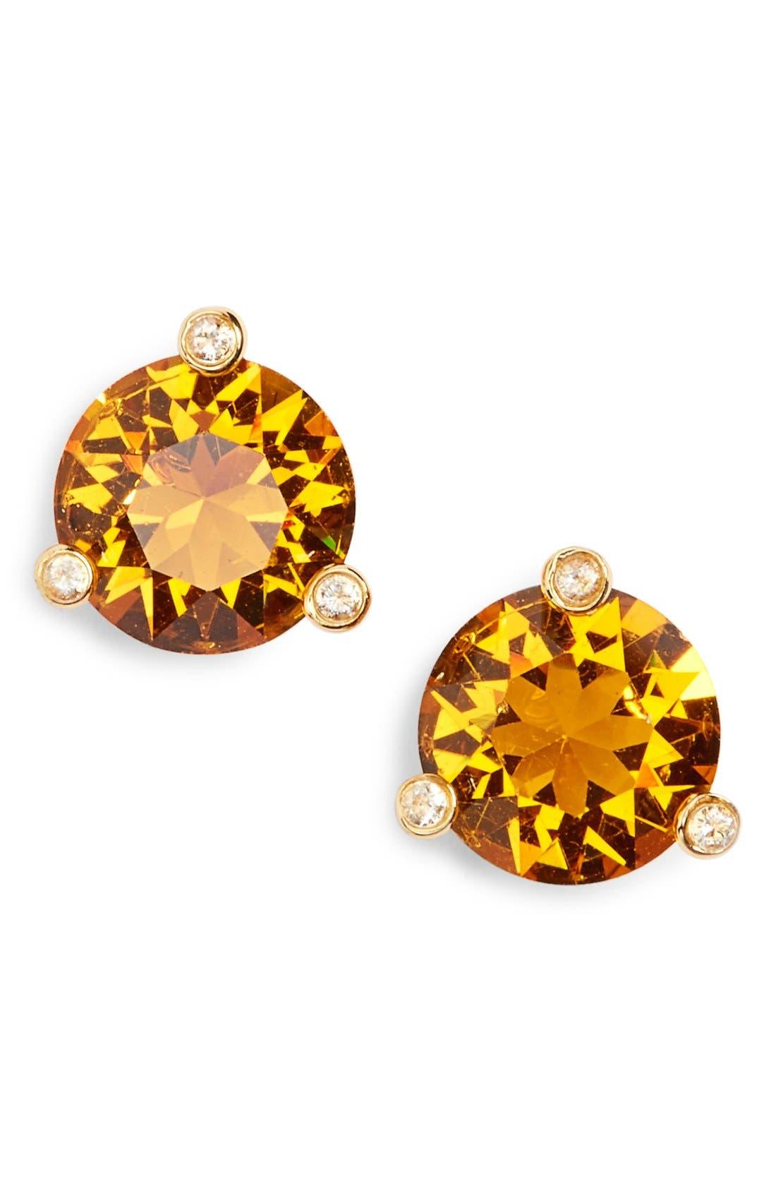 Main Image - kate spade new york 'rise & shine' stud earrings