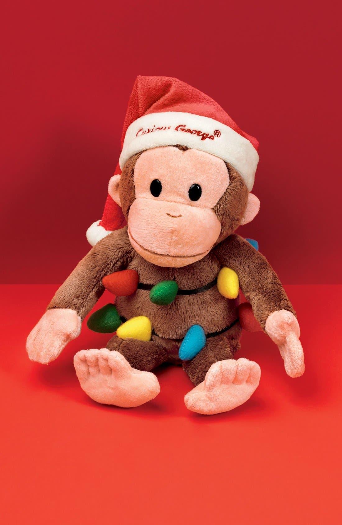 Alternate Image 2  - Gund Curious George Holiday Stuffed Animal