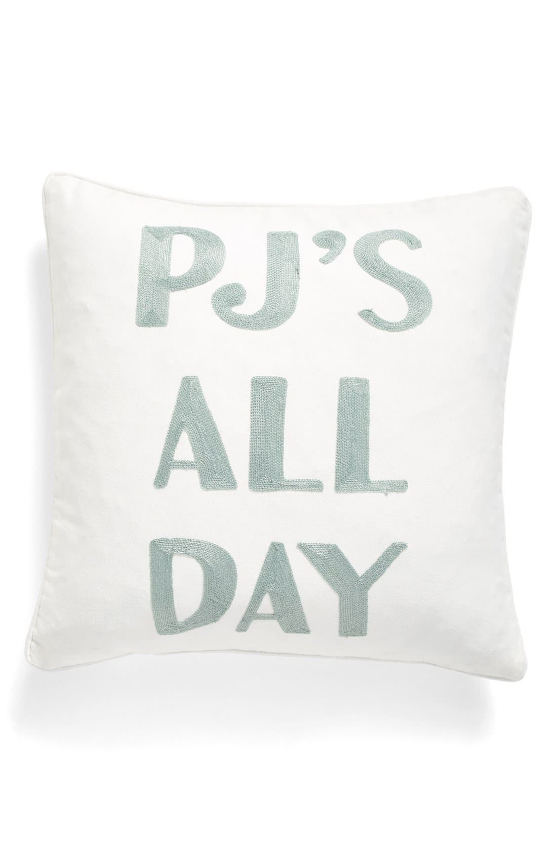 Alternate Image 1 Selected - Levtex PJs All Day Accent Pillow