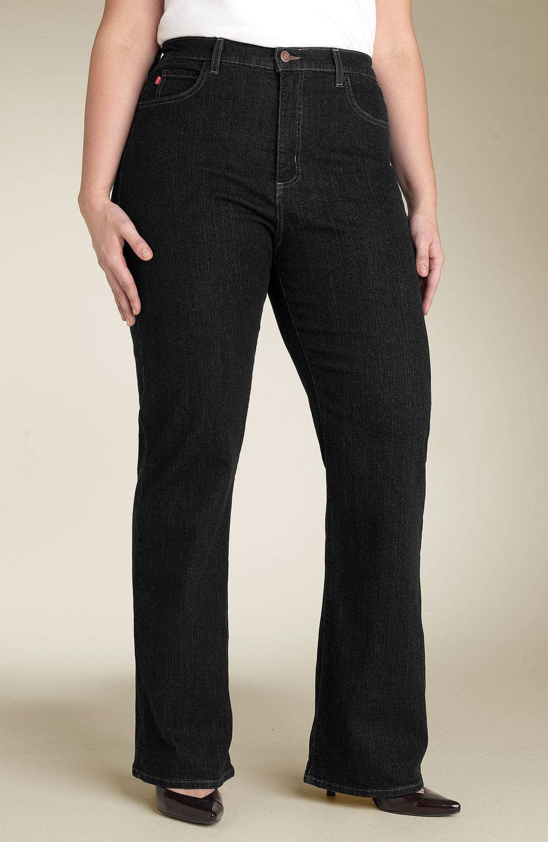 Alternate Image 2  - NYDJ Stretch Jeans (Plus)