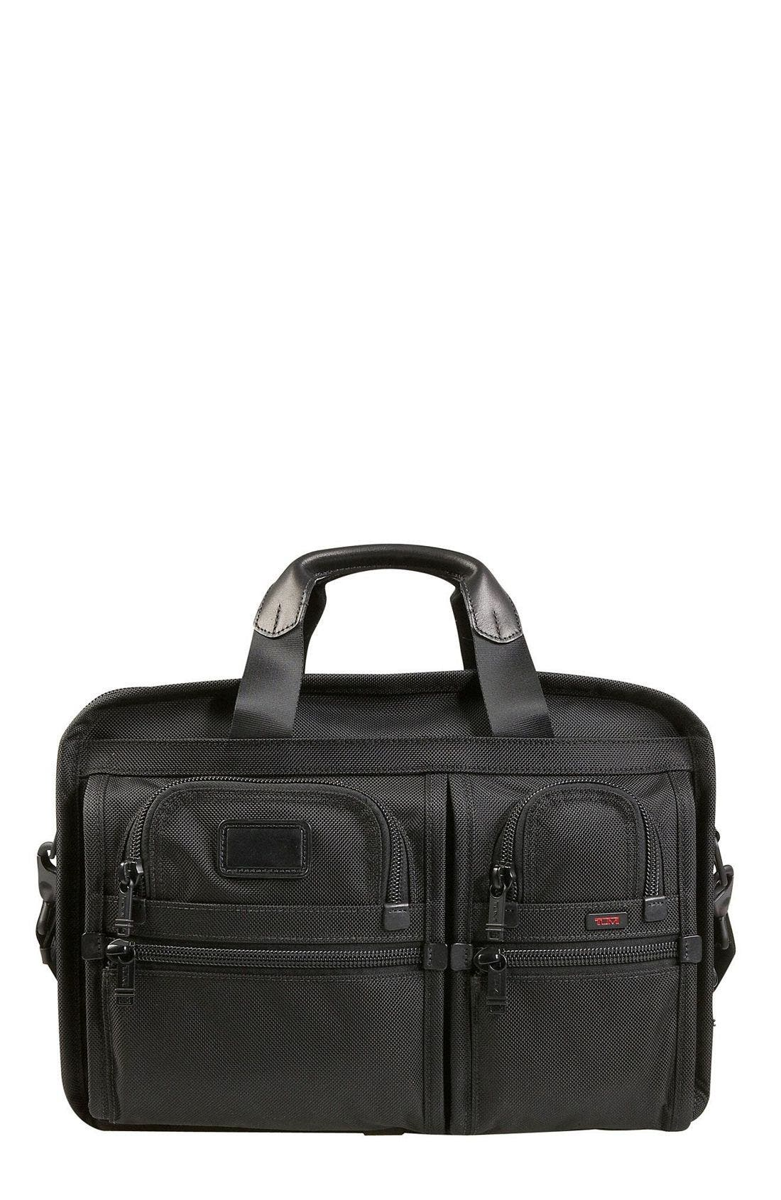 Alternate Image 1 Selected - Tumi 'Alpha' Expandable Organizer Computer Briefcase