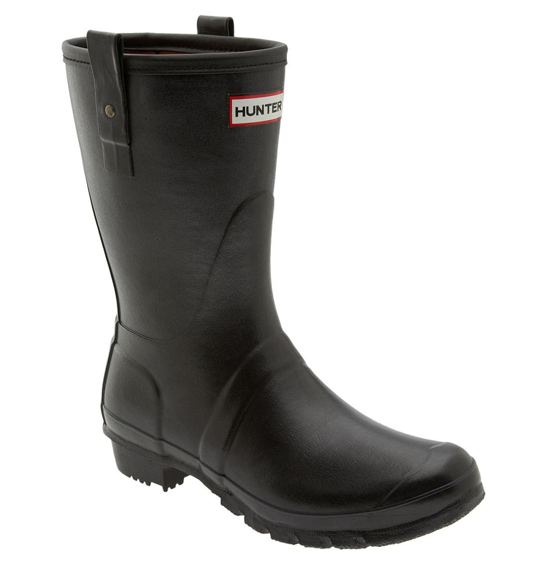 Main Image - Hunter 'Original Short' Rain Boot (Men)