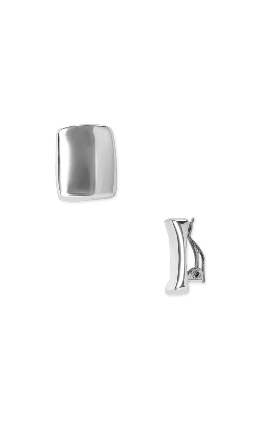 Alternate Image 1 Selected - Simon Sebbag Square Clip-On Earrings