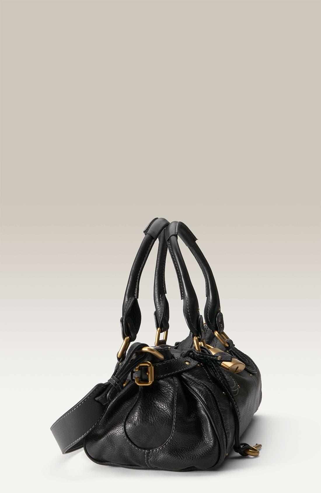 Alternate Image 2  - Chloé 'Paddington' Leather Padlock Satchel