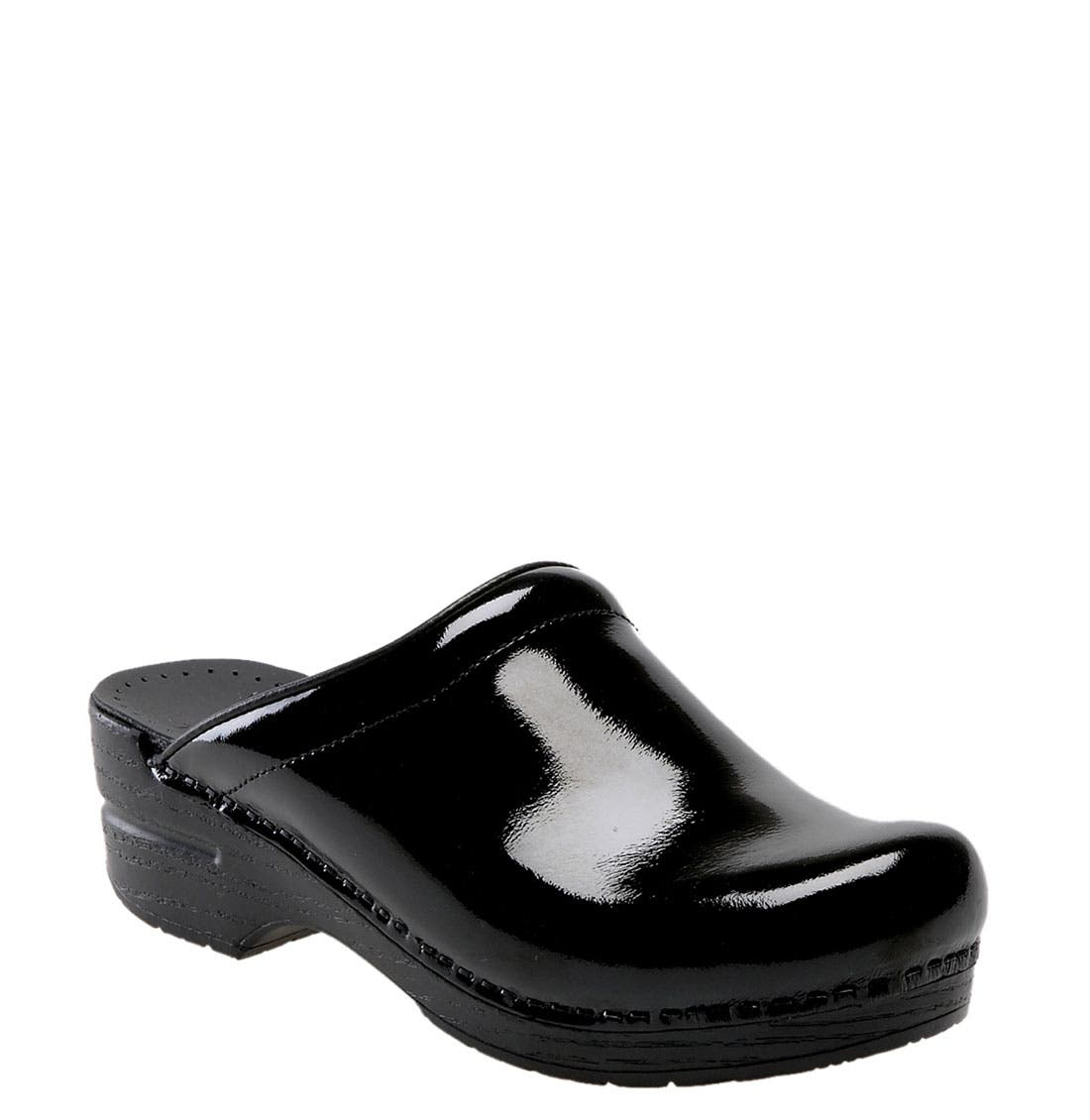 Alternate Image 1 Selected - Dansko 'Sonja' Patent Leather Clog