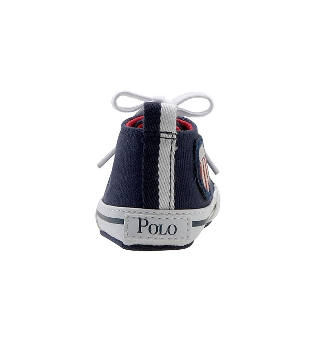 Alternate Image 4  - Ralph Lauren Layette 'Bal Harbour Hi' Sneaker (Baby)