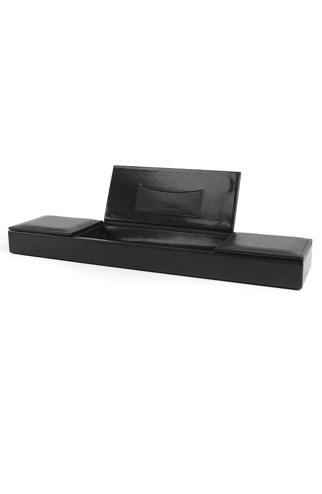 Alternate Image 1 Selected - Bosca 'Nappa Vitello Collection' Leather Desk Organizer