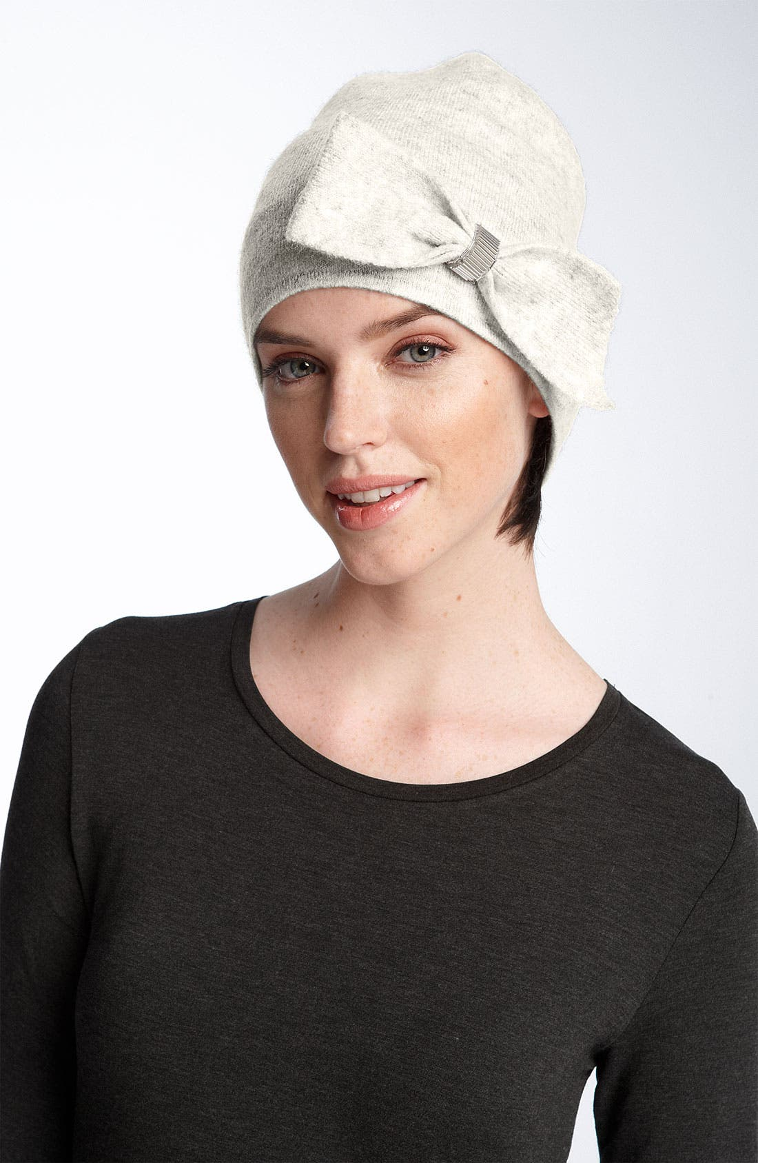 Main Image - Nordstrom 'Pretty Bow' Knit Cap