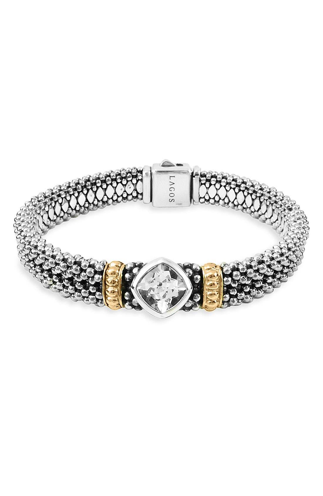 Main Image - LAGOS 'Glacier' Caviar Bracelet