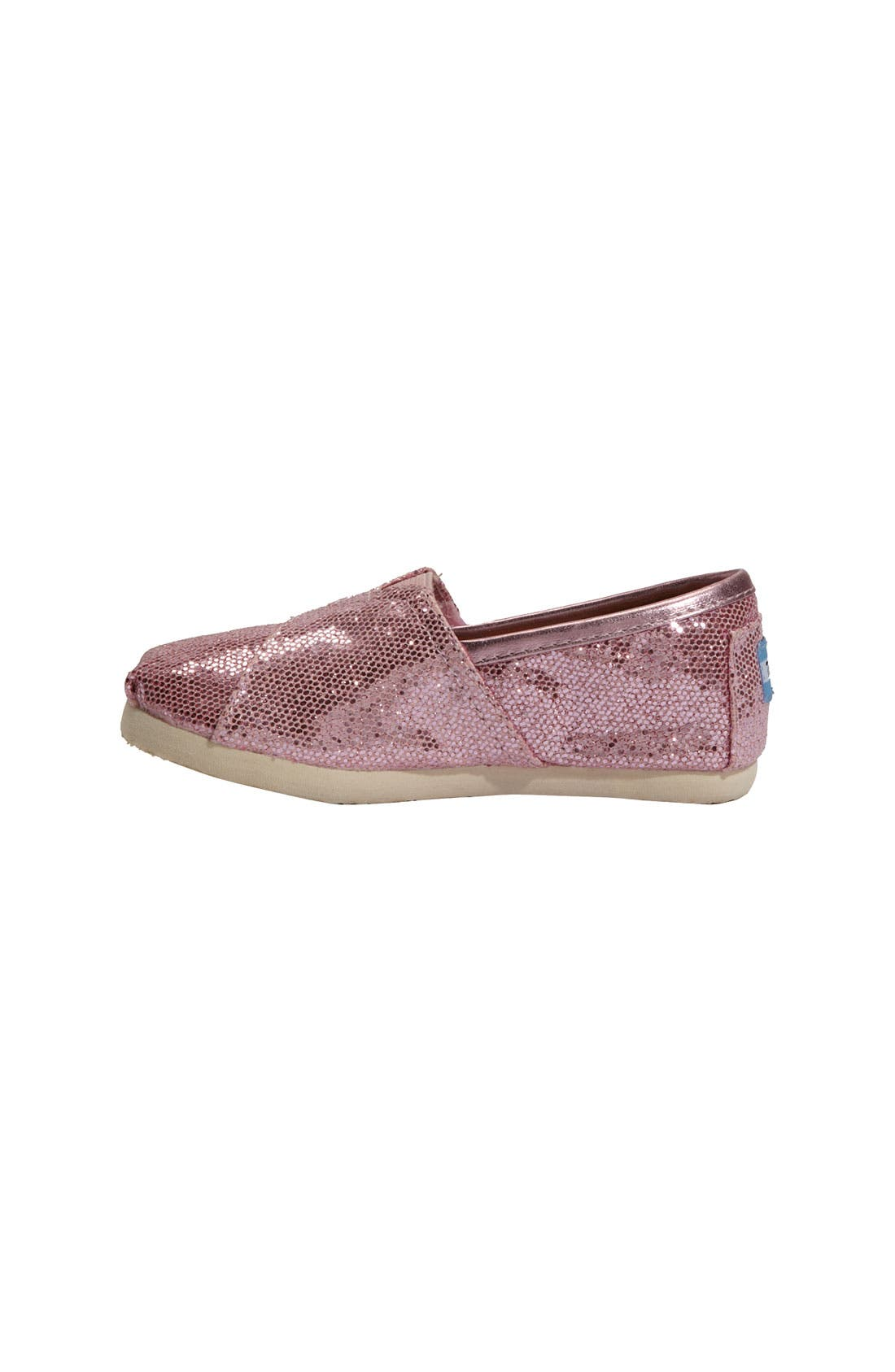 Alternate Image 2  - TOMS 'Classic - Tiny' Canvas Slip-On (Toddler)