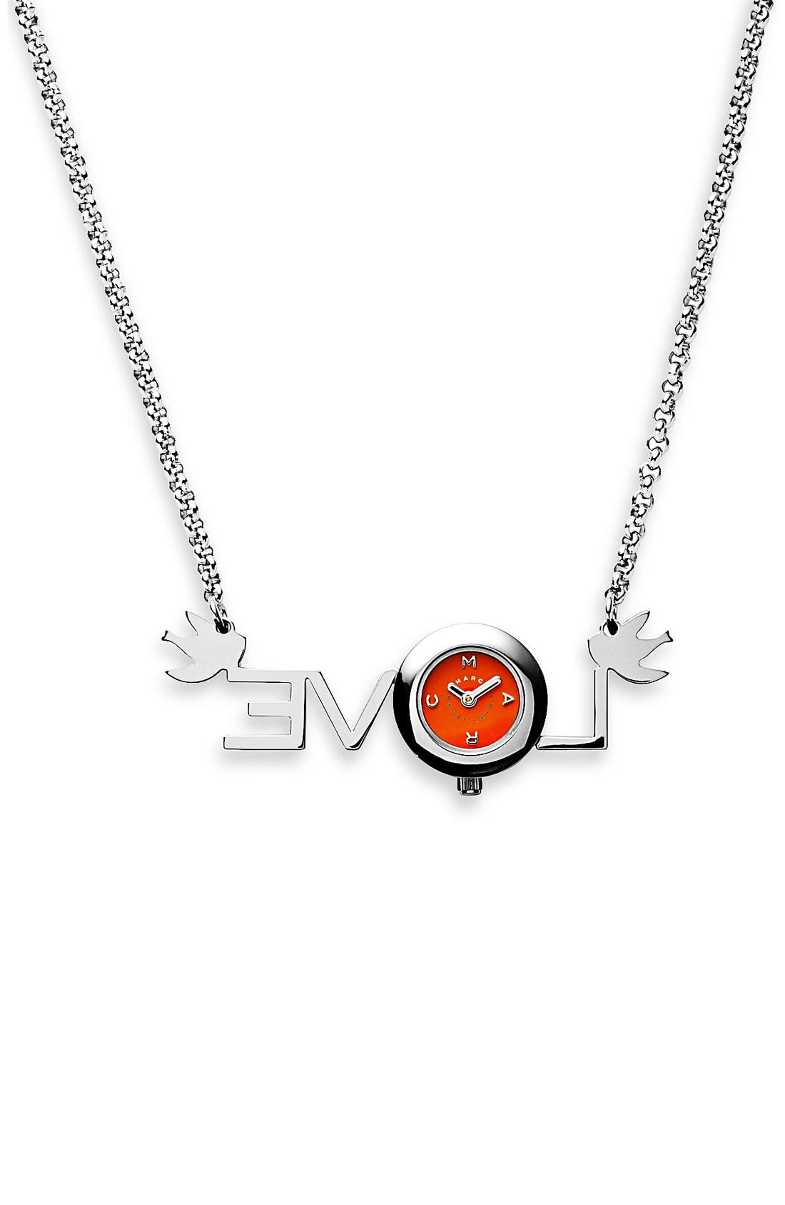 Alternate Image 2  - MARC BY MARC JACOBS 'Love' Watch Necklace