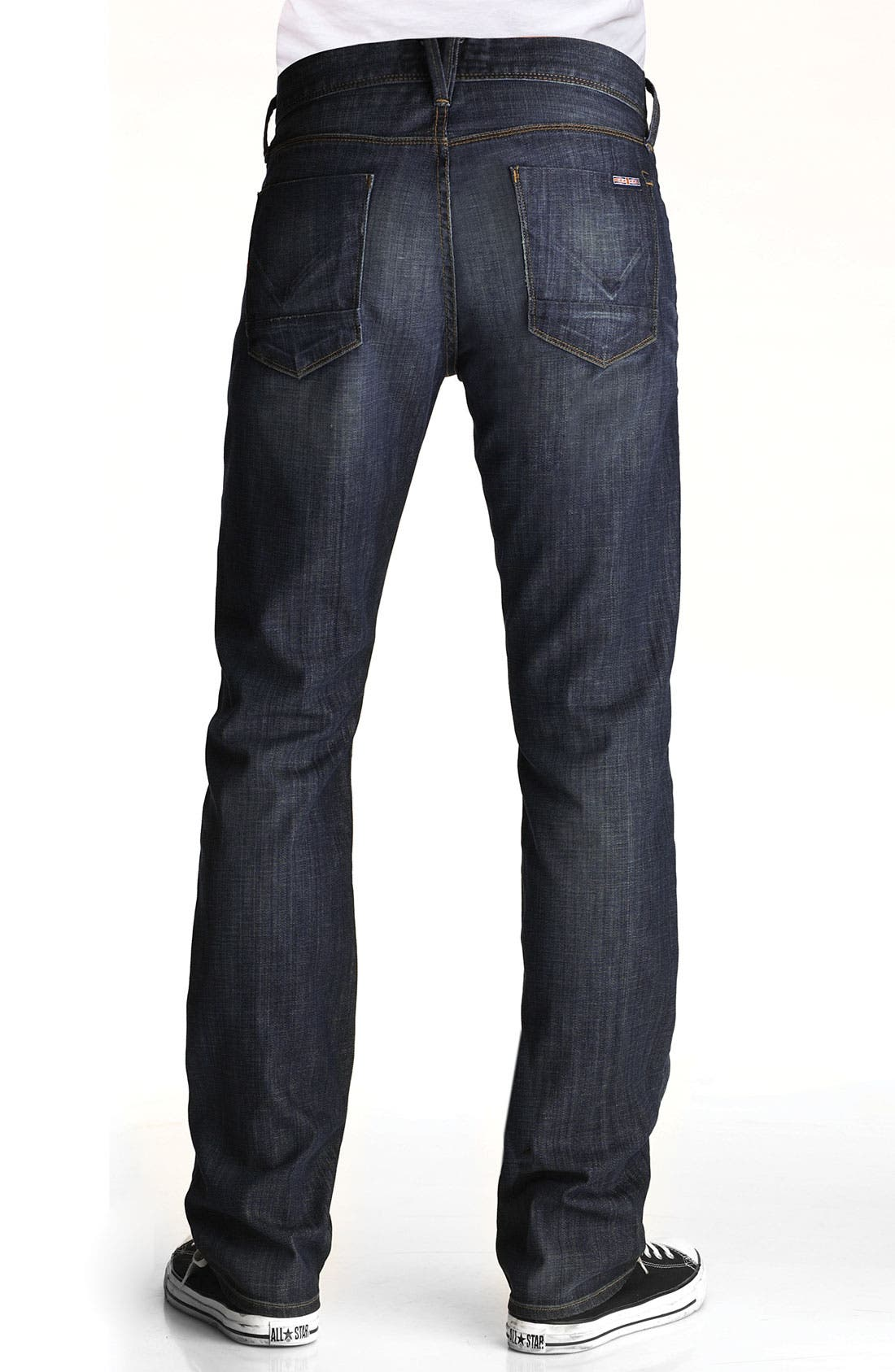 Alternate Image 1  - Hudson Jeans Straight Leg Jeans (Smithfield)