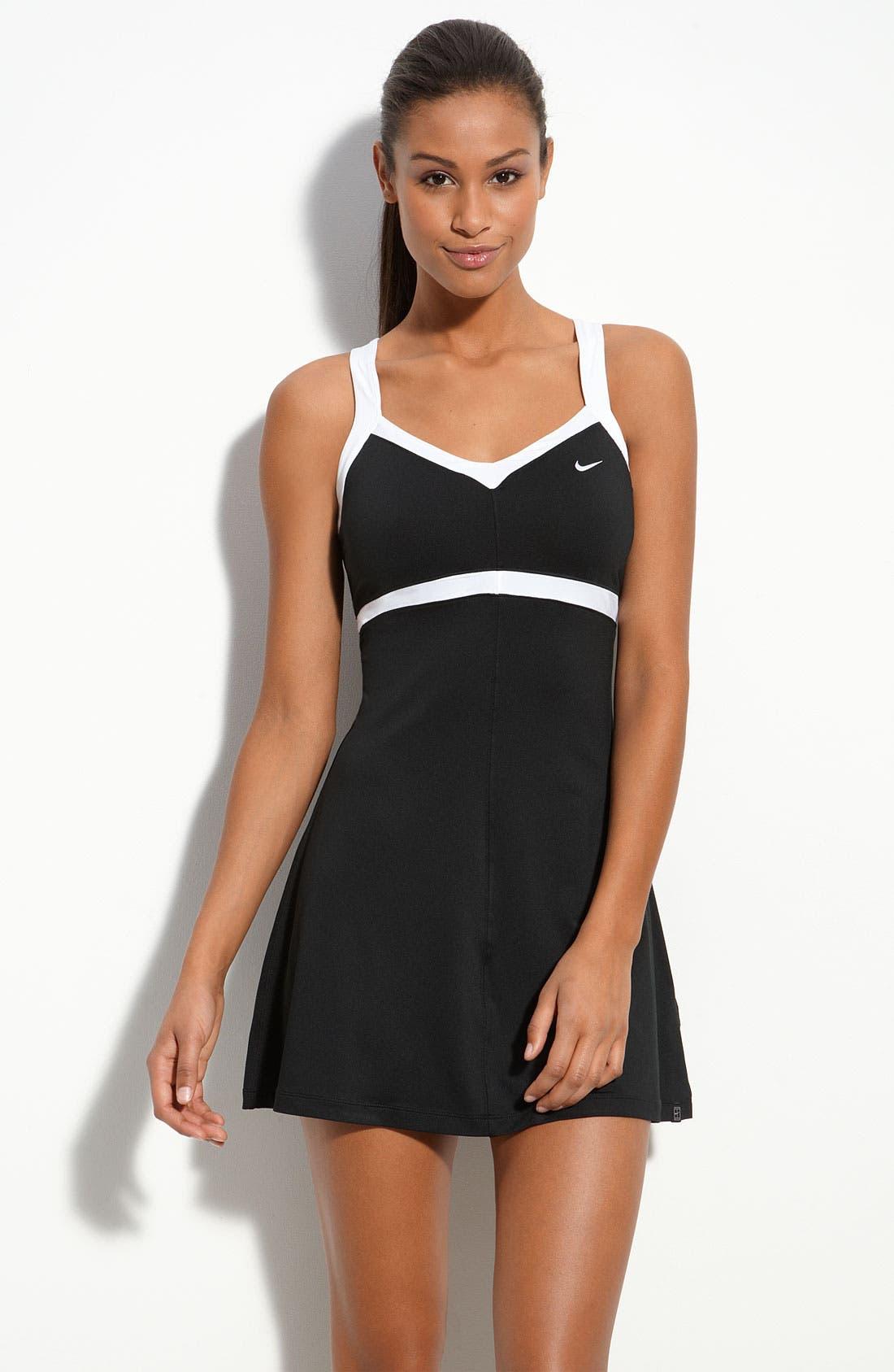 Main Image - Nike 'Border' Tennis Dress