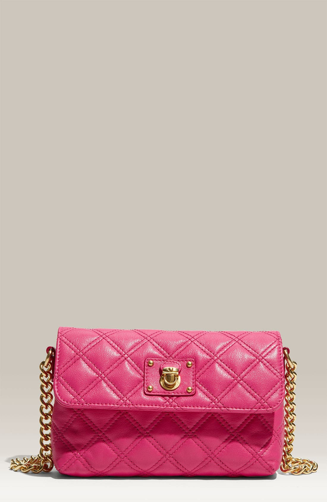 Main Image - MARC JACOBS 'The Single' Quilted Crossbody Bag