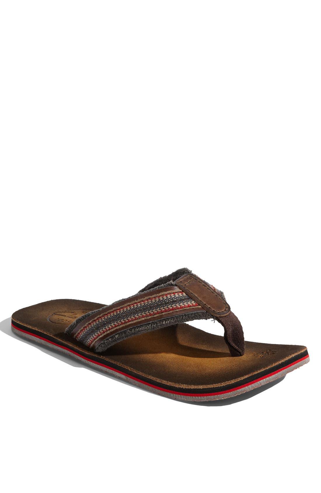 Main Image - Clarks® 'Cayo' Flip Flop