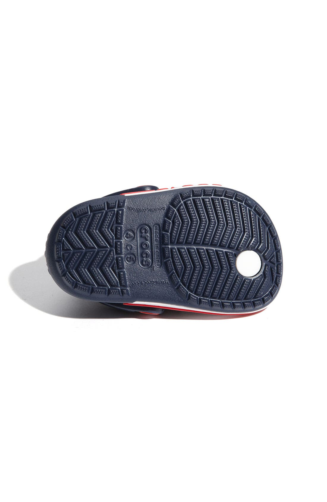 Alternate Image 4  - CROCS™ 'Crocband' Flip Flop (Walker, Toddler & Little Kid)