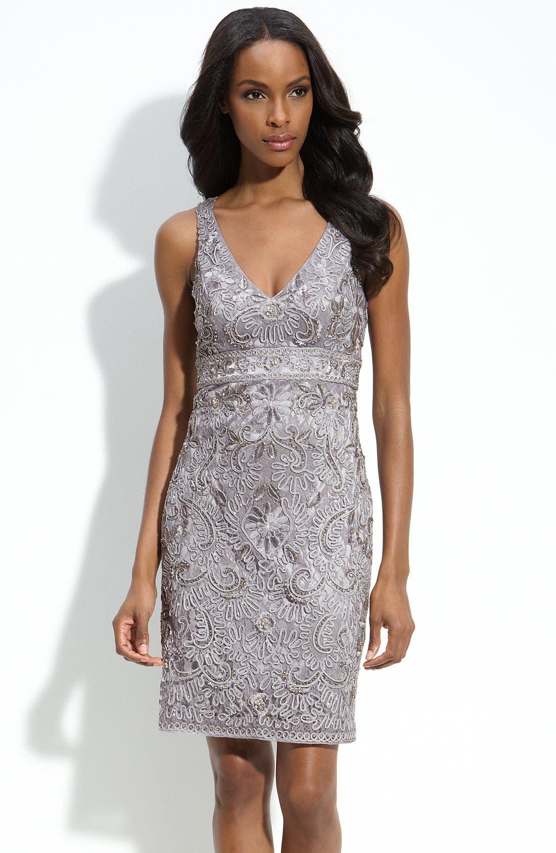 Alternate Image 1 Selected - Sue Wong Embellished Sheath Dress