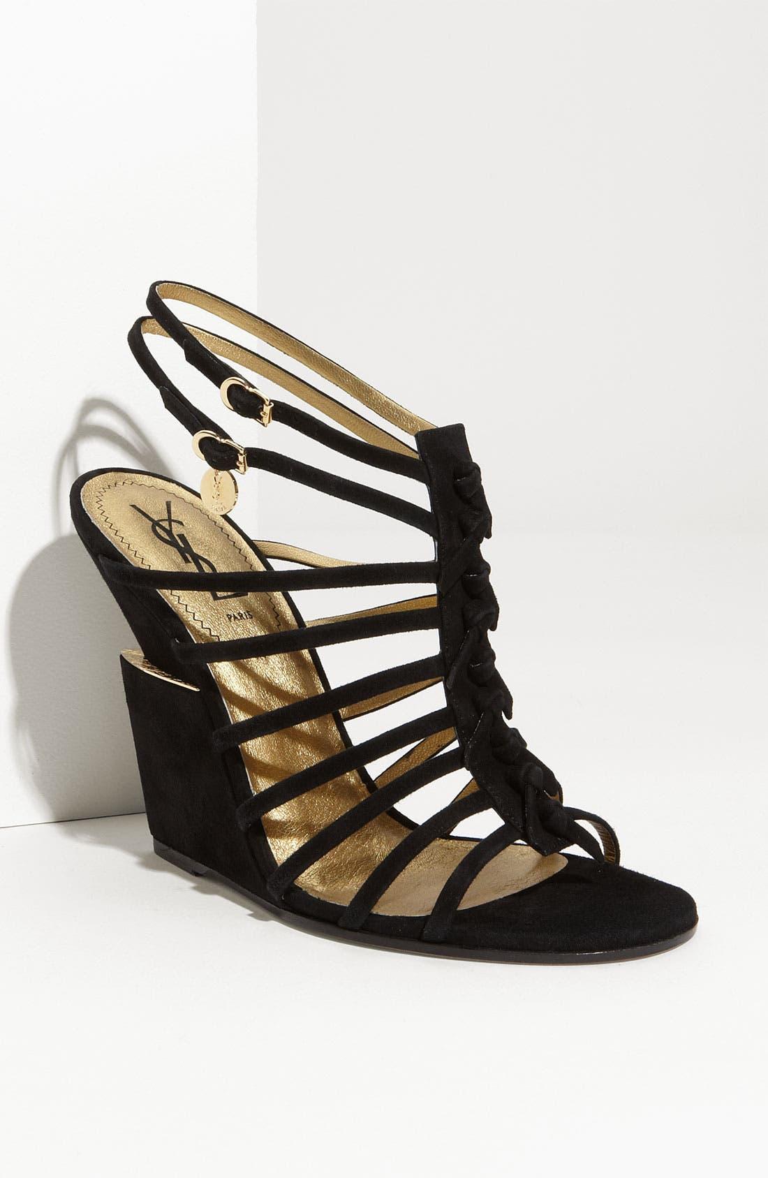 Main Image - Yves Saint Laurent 'Trybal' Wedge Sandal