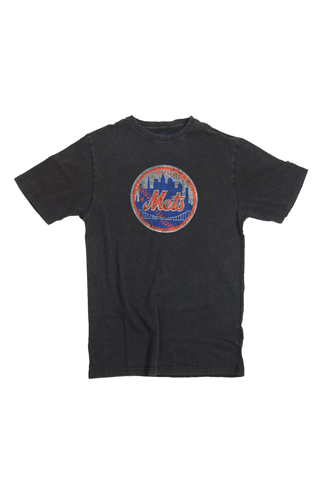 Alternate Image 4  - Red Jacket 'New York Mets' Trim Fit T-Shirt (Men)