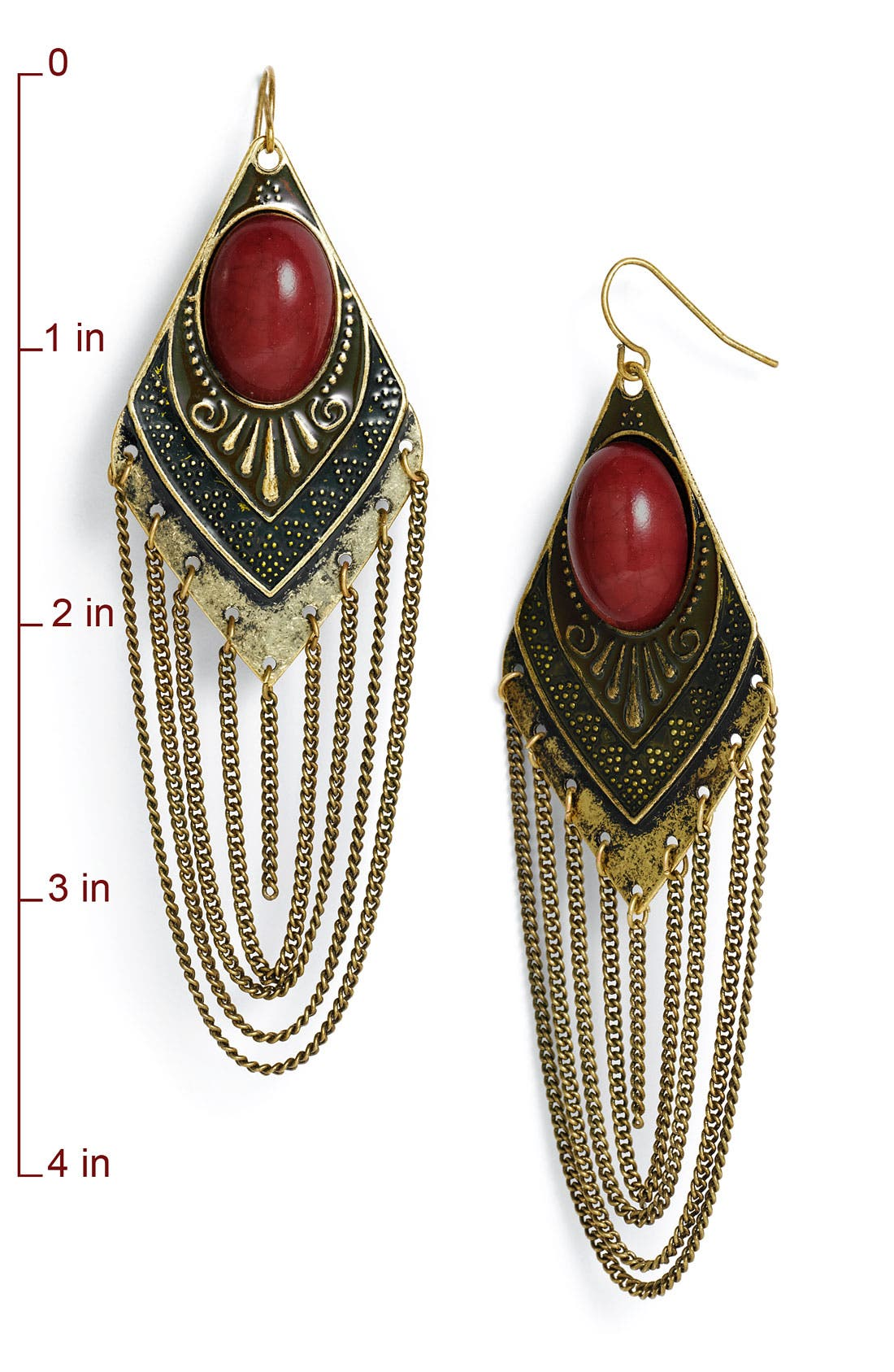 Alternate Image 2  - Carole Chain Detailed Earrings