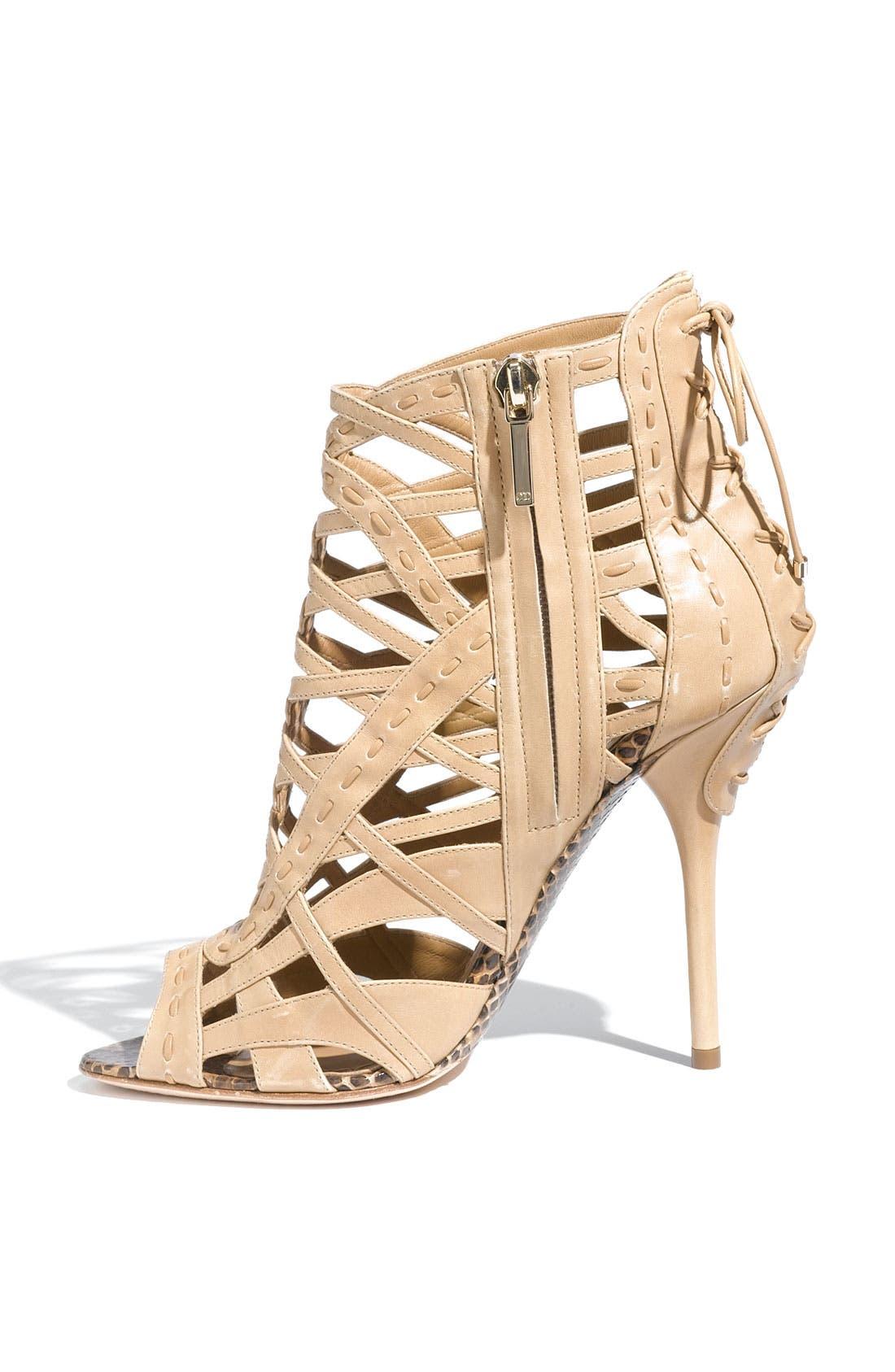 Alternate Image 2  - Dior Caged Leather Sandal