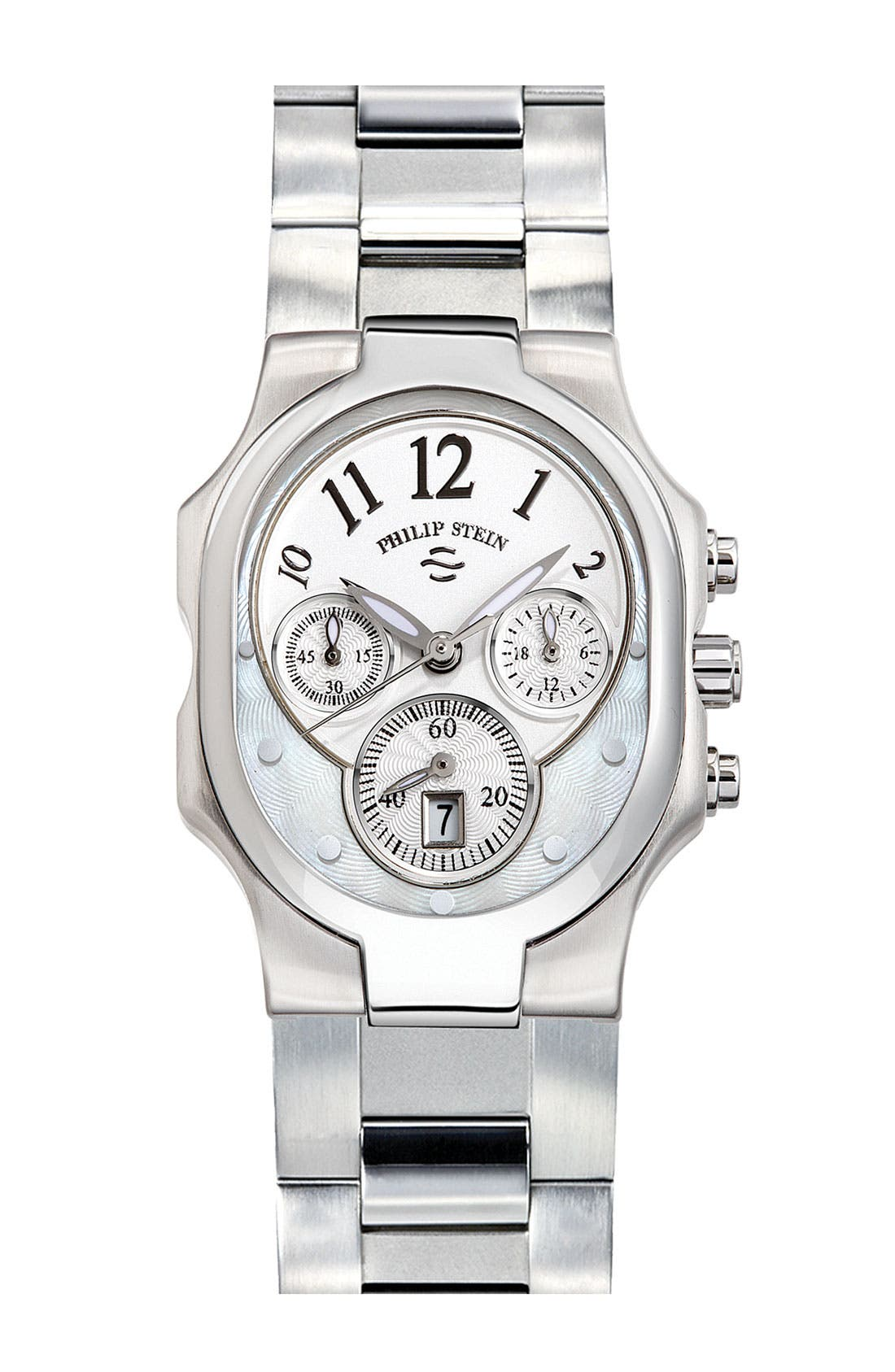 Alternate Image 1 Selected - Philip Stein® 'Classic' Small Choronograph Customizable Watch