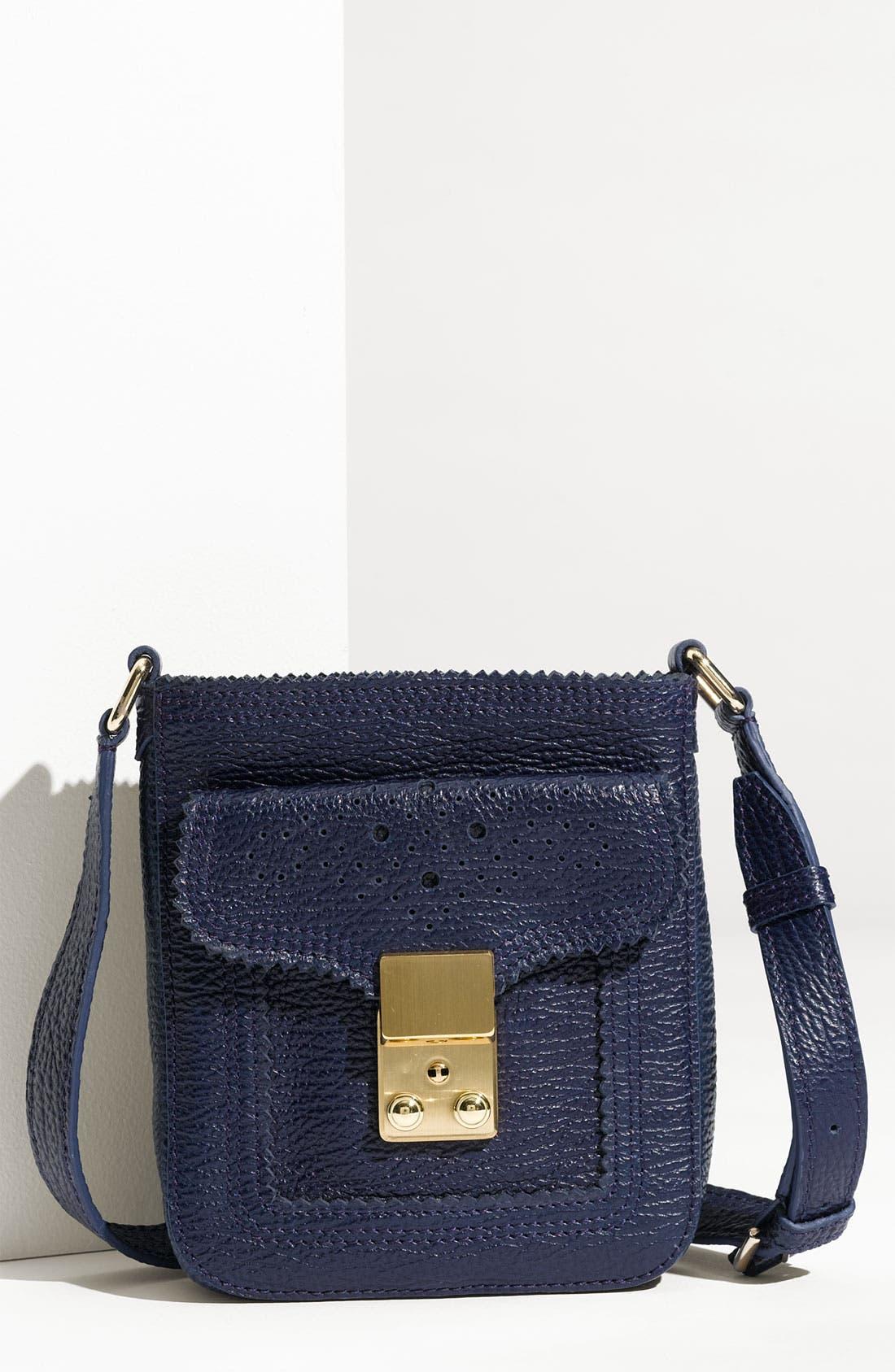 Alternate Image 1 Selected - 3.1 Phillip Lim 'Pashli Camera' Textured Calfskin Crossbody Bag