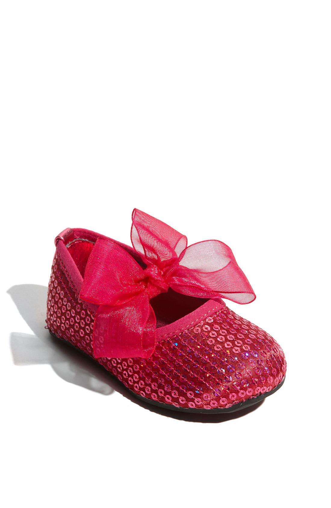 Alternate Image 1 Selected - Stuart Weitzman 'Baby Bling' Crib Shoe (Baby & Walker)