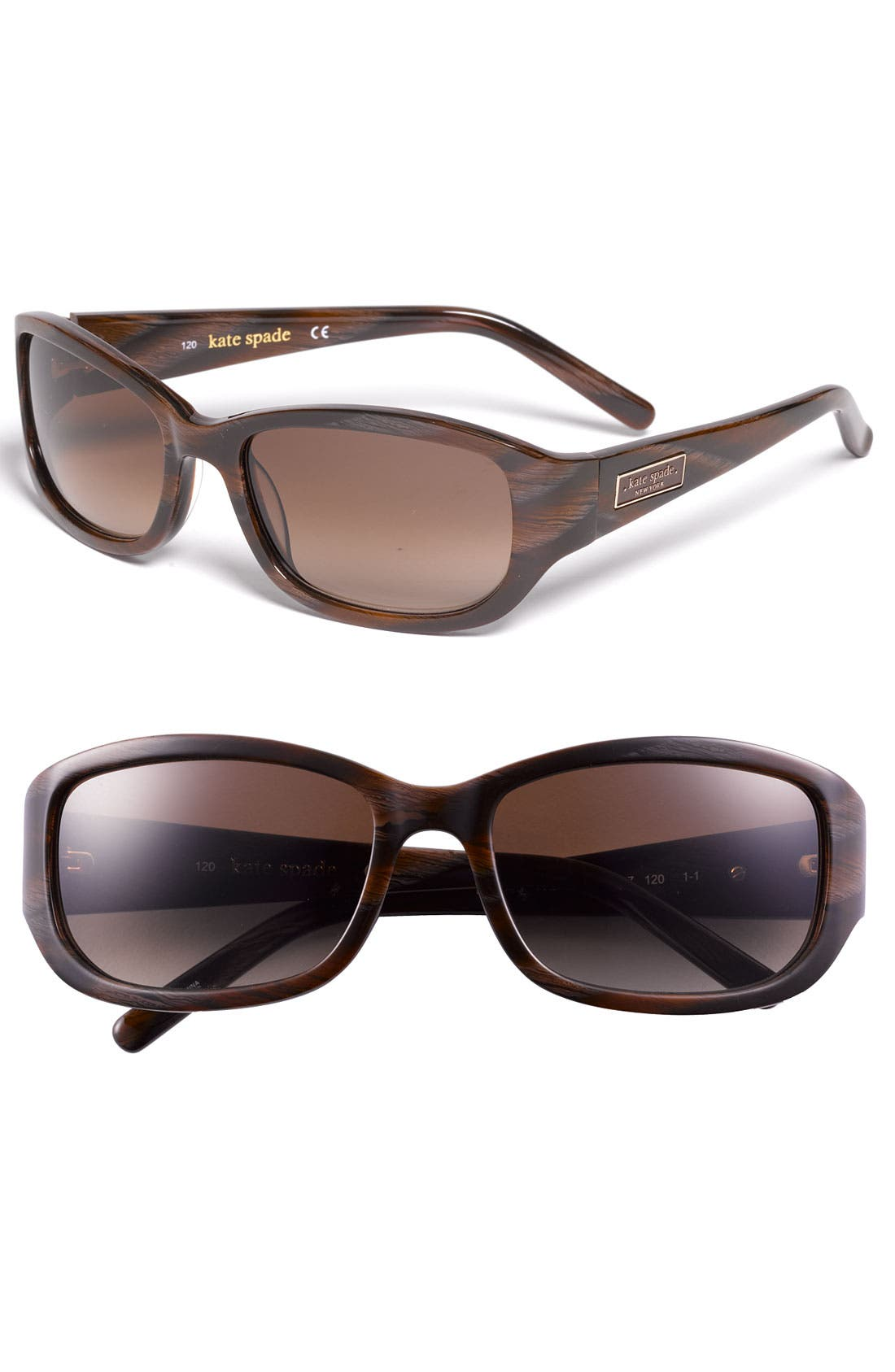 Alternate Image 1 Selected - kate spade new york 'diana' 54mm sunglasses