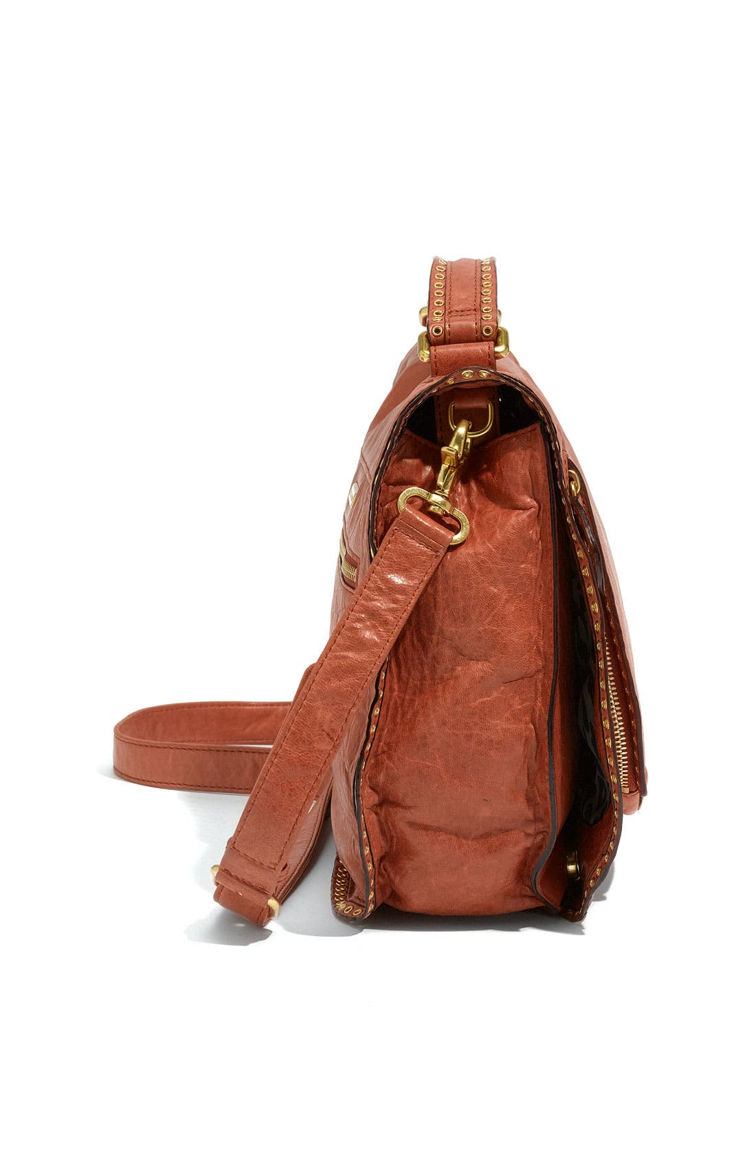 Alternate Image 2  - Rebecca Minkoff 'Vanity' Glazed Leather Crossbody Bag