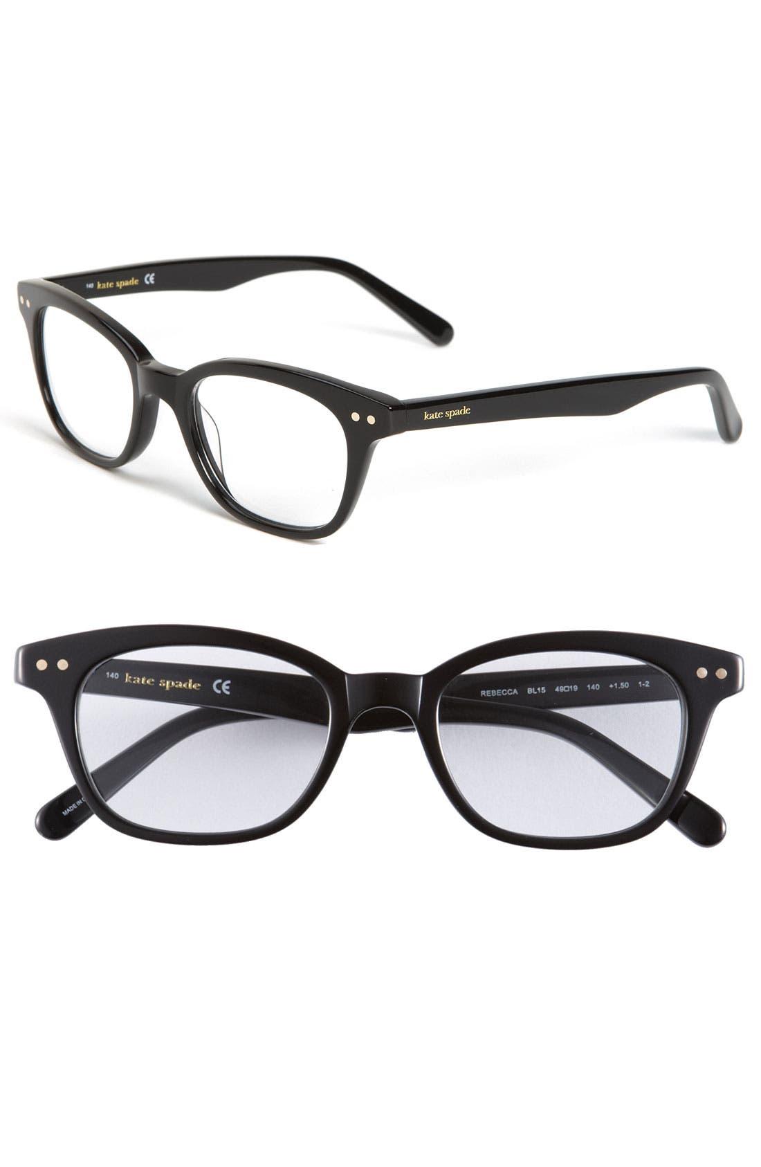 kate spade new york rebecca 49mm reading glasses (2 for $88)