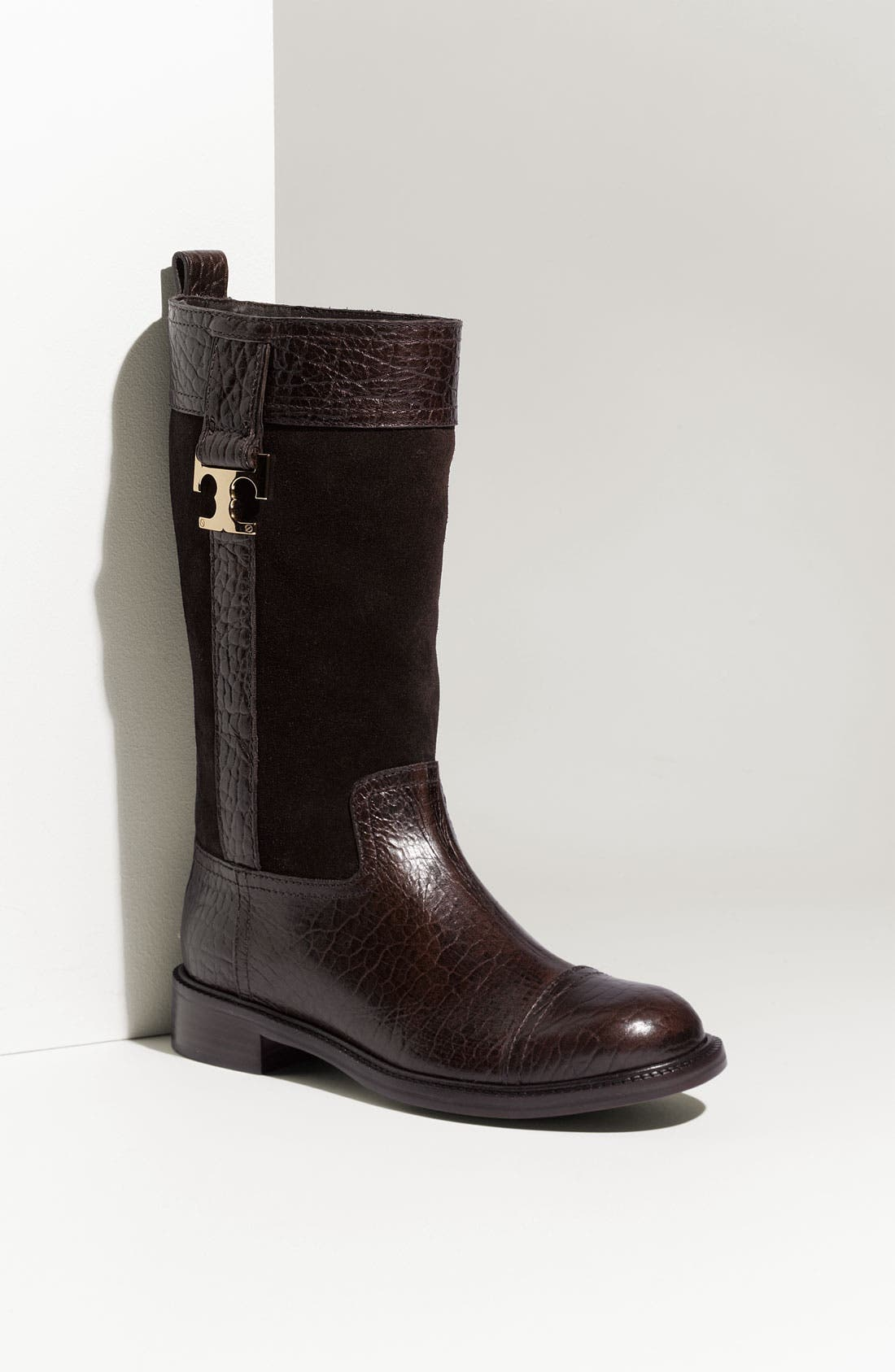 Main Image - Tory Burch 'Corey' Leather & Suede Boot