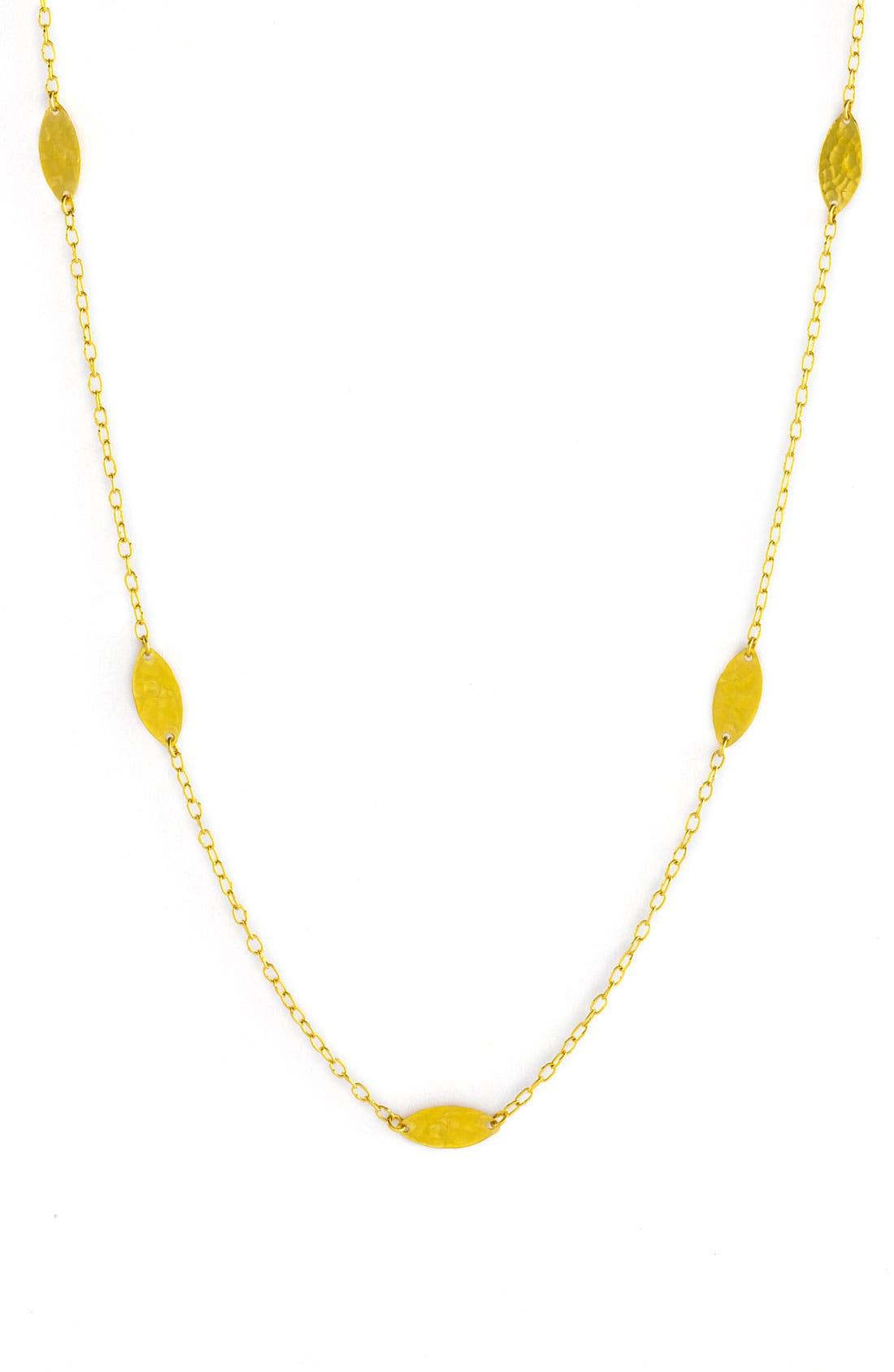 Alternate Image 2  - Gurhan 'Willow' Long Leaf Necklace