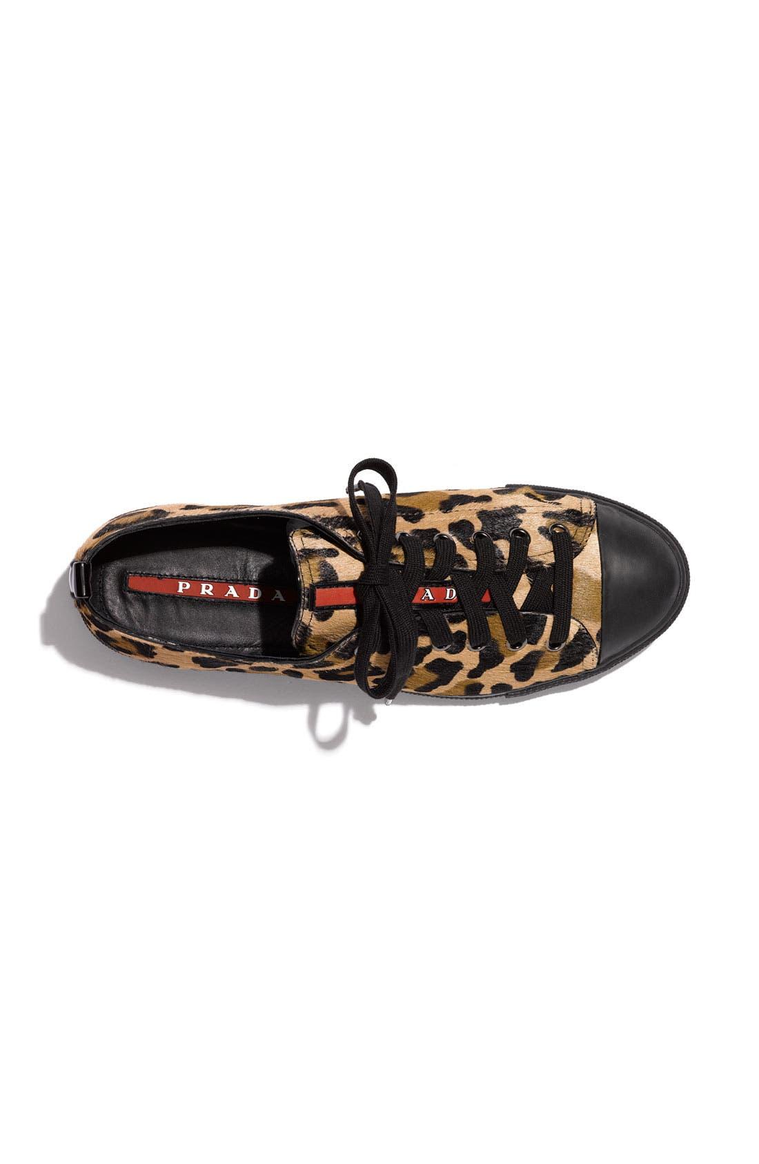 Alternate Image 3  - Prada Leopard Print Sneaker