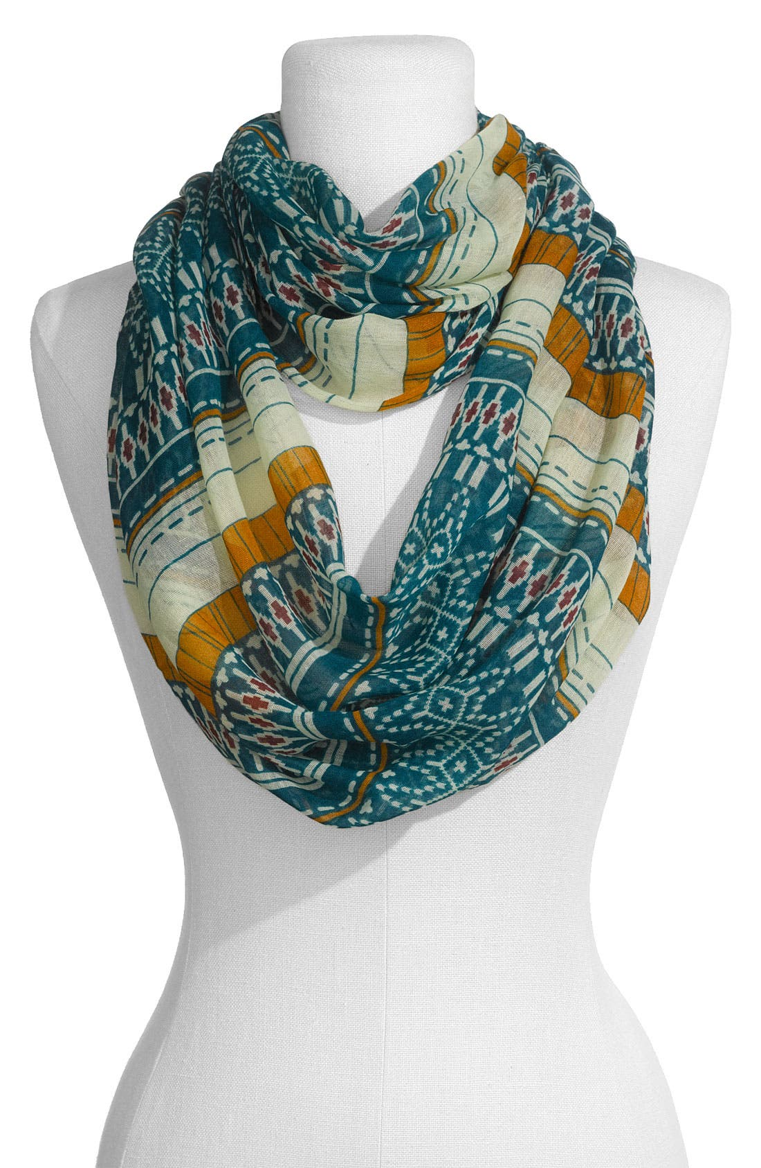 Alternate Image 1 Selected - Lulu Tribal Print Infinity Scarf