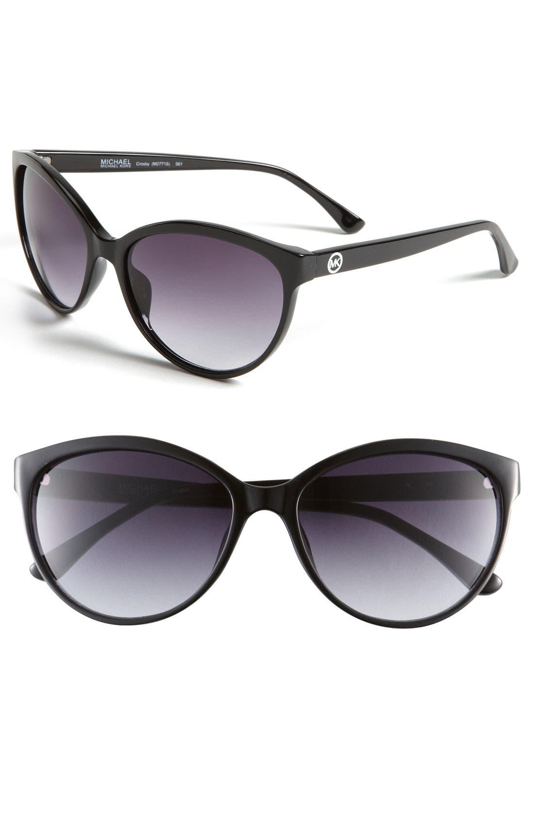 Main Image - MICHAEL Michael Kors 58mm Cat's Eye Sunglasses