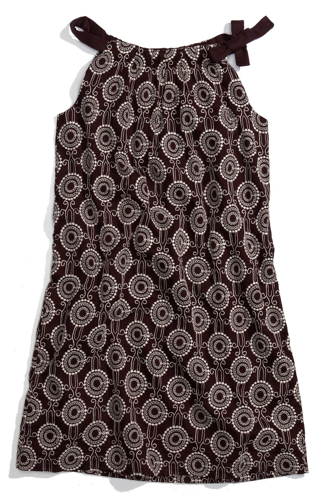 Main Image - Peek Embroidered Dress (Toddler, Little Girl & Big Girl)